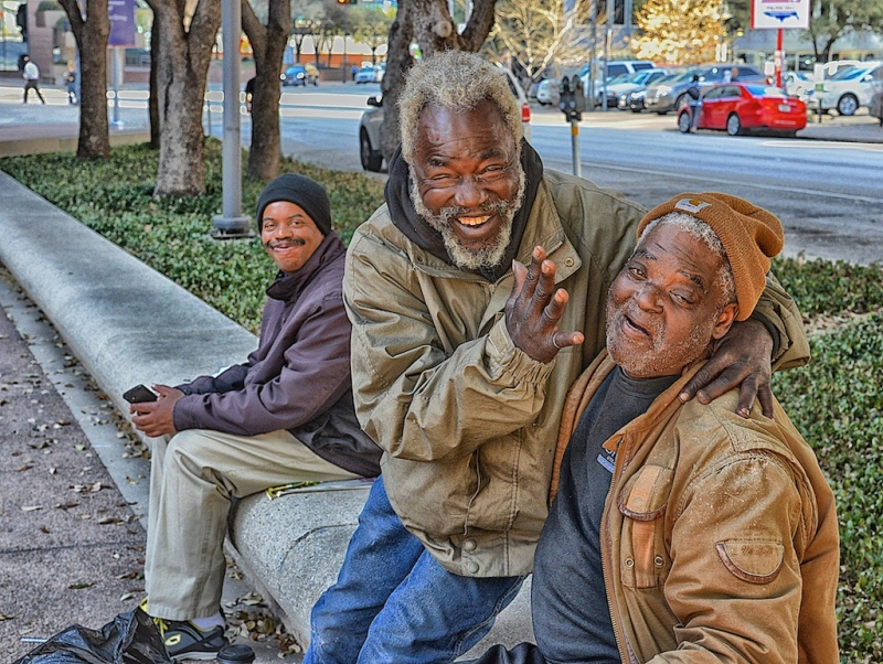 Happy Homeless Guys