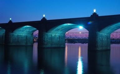 Harrisburg At Night