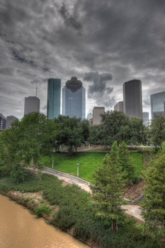 Houston Skyline Hdr