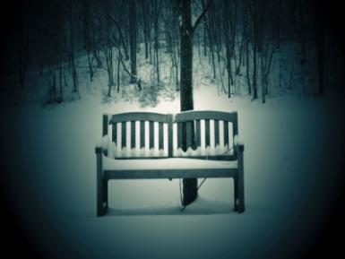 In The Cold, I Sit Alone