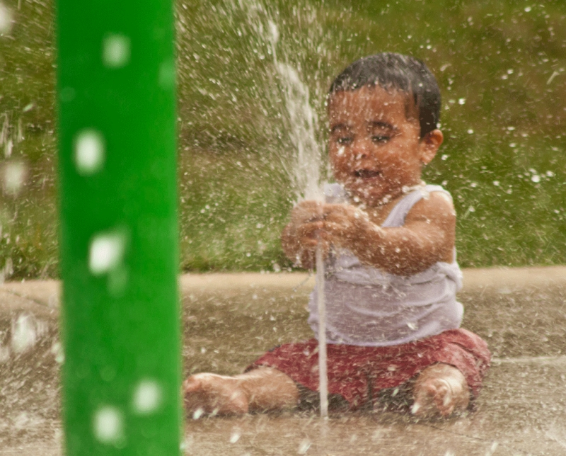 Kids Plus Water Makes For A Whole Lot Of Fun