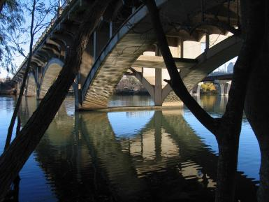 Lamar Street Bridge – South End