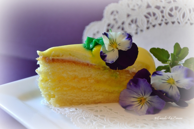 Lemon Filled Cake