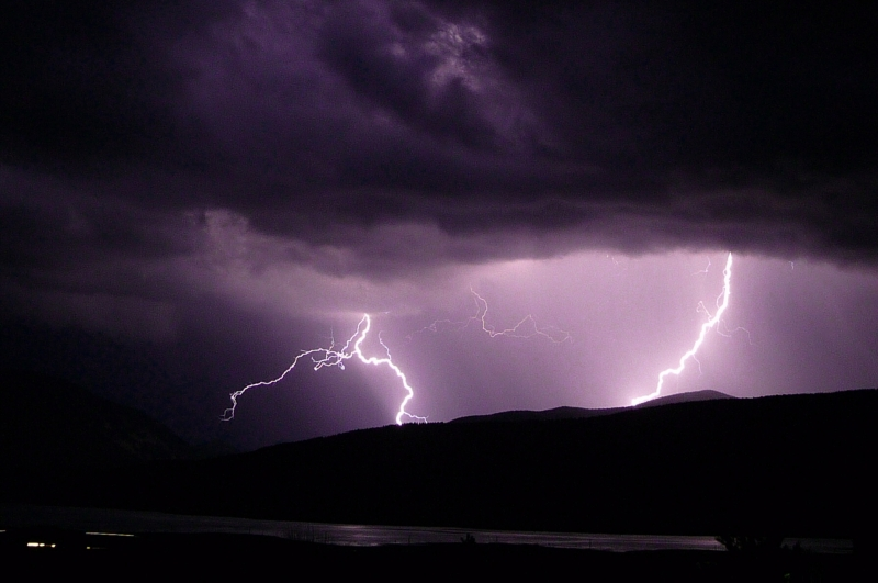 Lightening Over Eagle Nest Lake
