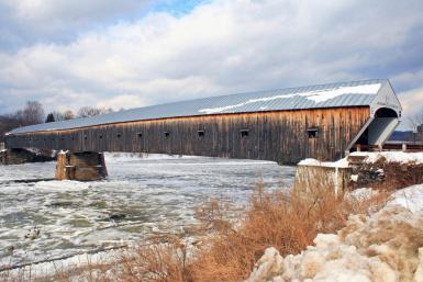 Longest Wooden Covered Bridge In The World