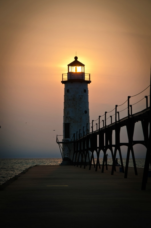 Manistee Pier Light