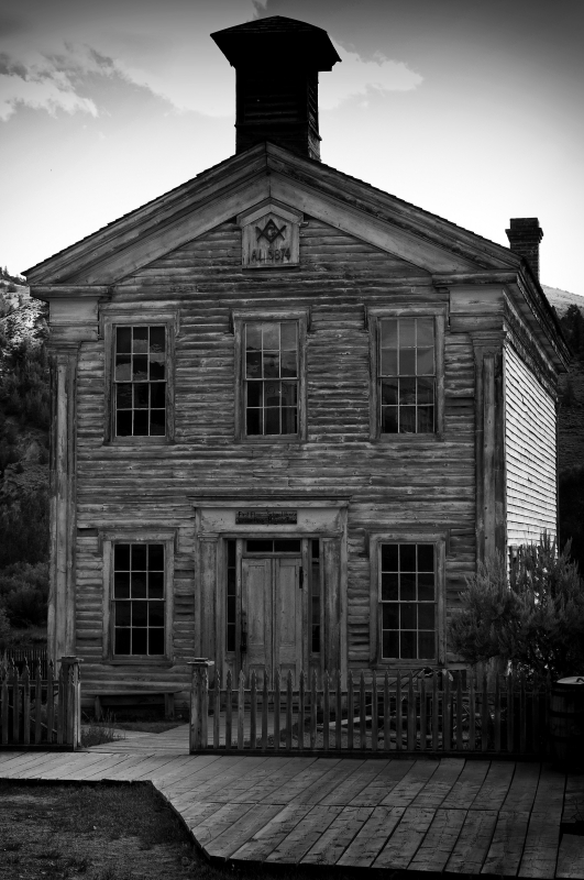 Masonic Ghost House