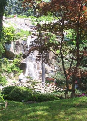 Maymont Waterfall
