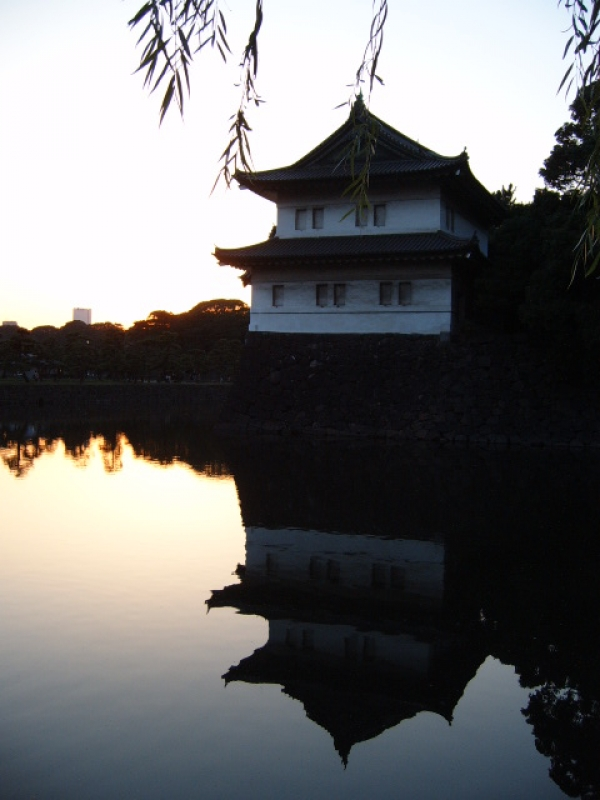 Mirrored Imperial Palace