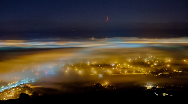Morgan Hill Tule Fog
