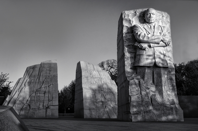 Morning At Mlk Memorial