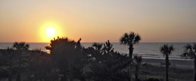 Morning At Myrtle Beach