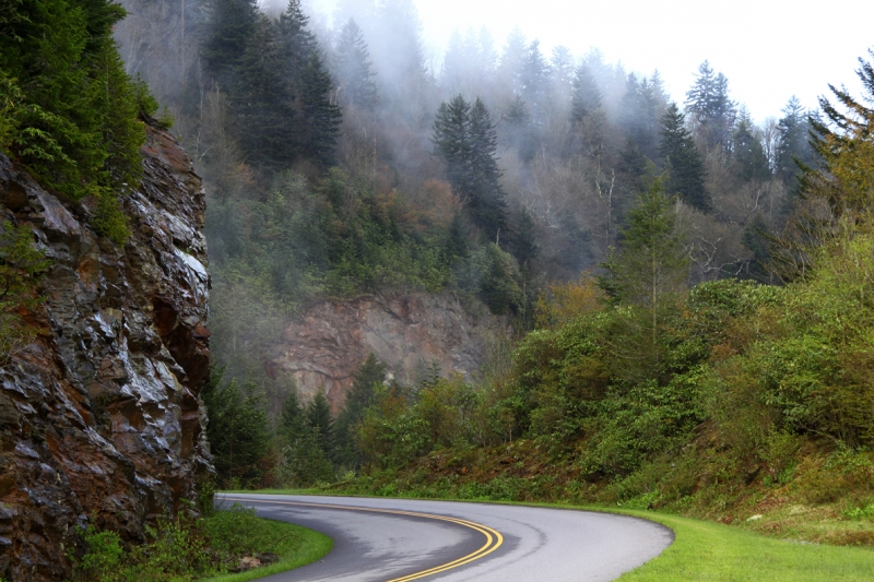 Mystic Mountain Road