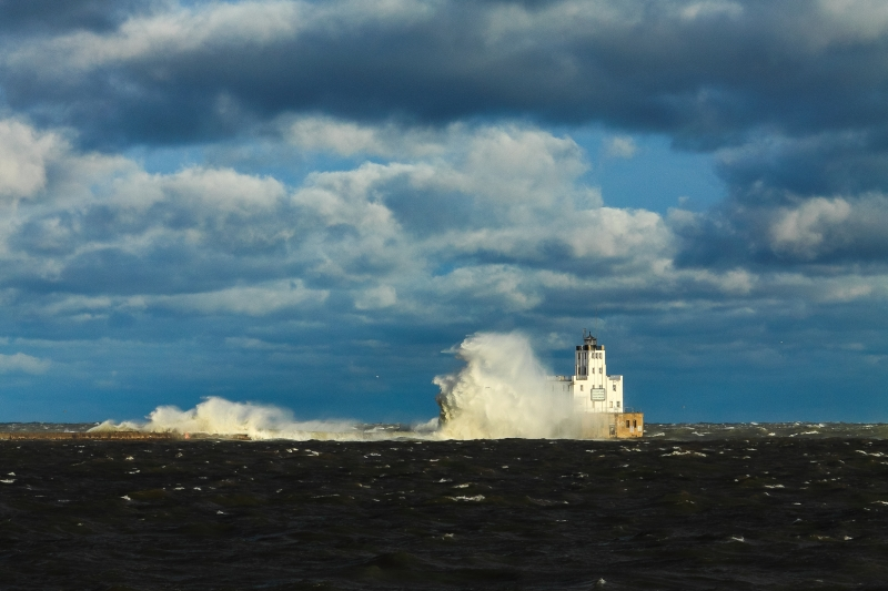 November Gale, Lake Michigan