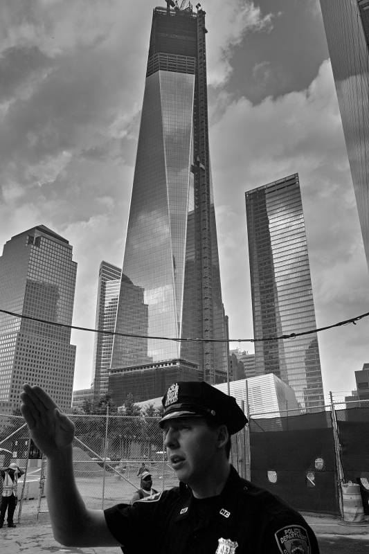 Nypd And One World Trade Center