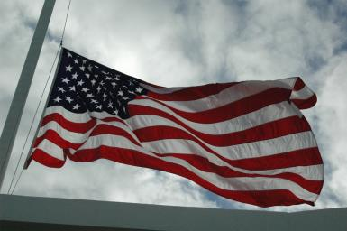 Old Glory @ Pearl Harbor