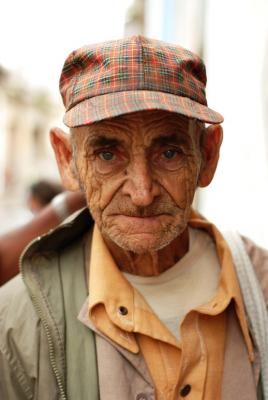 Old Man In Old Havana