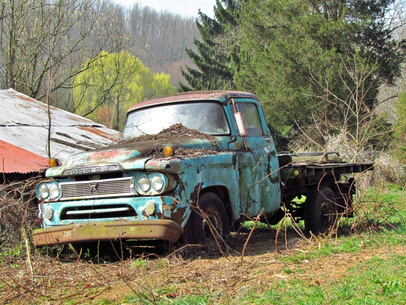 Old, Rusty, Abandoned And Forgotten