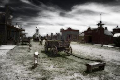 Old South Dakota Town