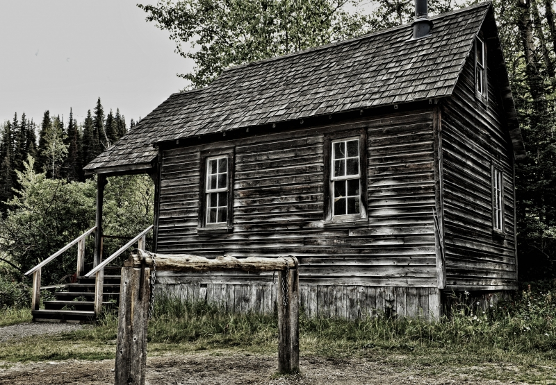 Old Wooden Home