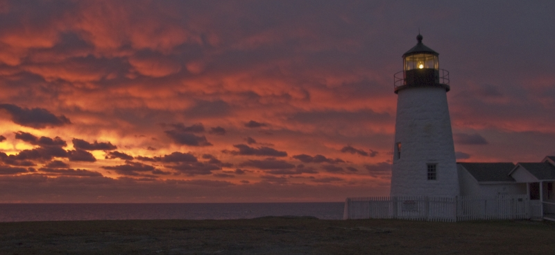 Pemaquid Light At Dawn