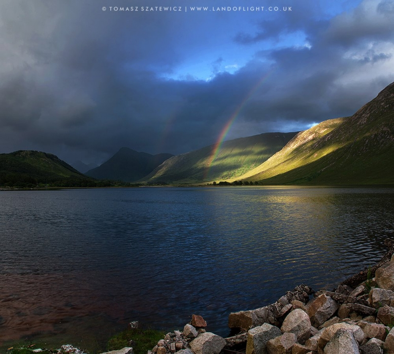 Rainbow At Glen Etive