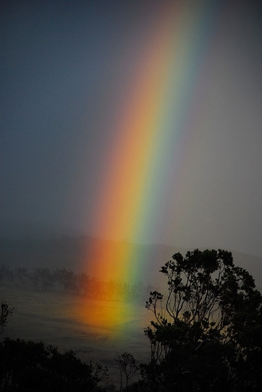Rainbow In Waimea