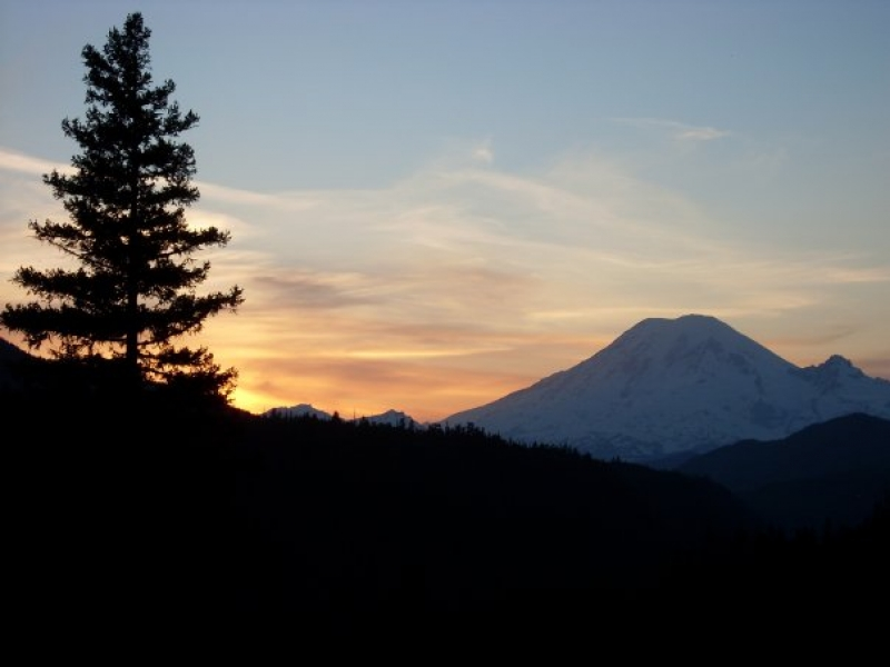 Rainier Sunset