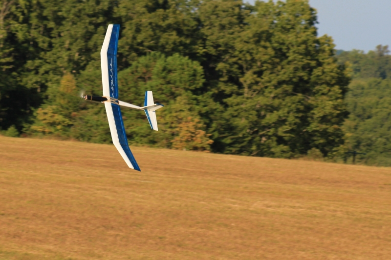 Rc Sailplane Fly By
