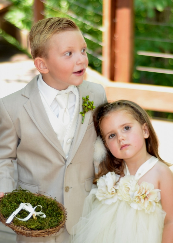 Ring Boy And Flower Girl
