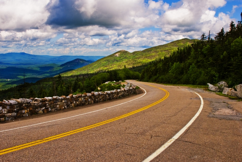 Road To Whiteface Mountain