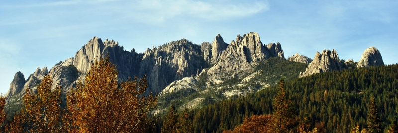 Rocky Splendor Of The Trinity Mountains