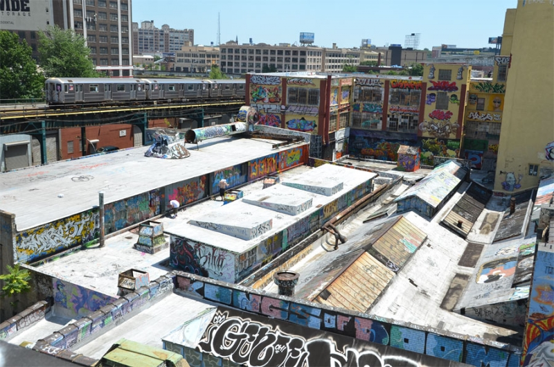 Rooftop At 5 Pointz