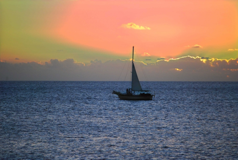 Sail At Sunset