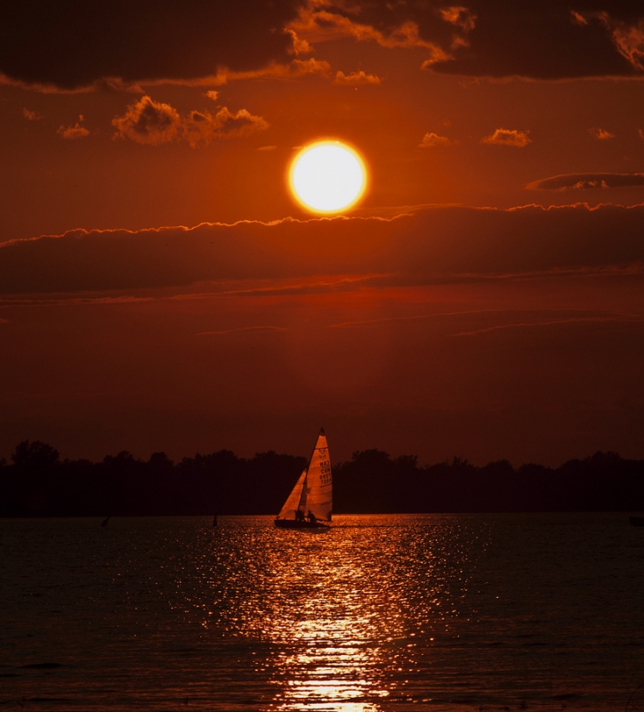 Sailing Under The Sunset