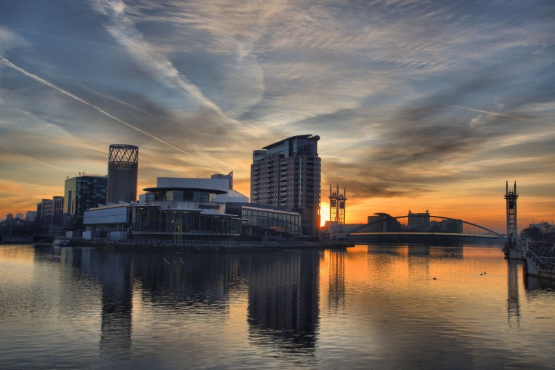 Salford Sunrise