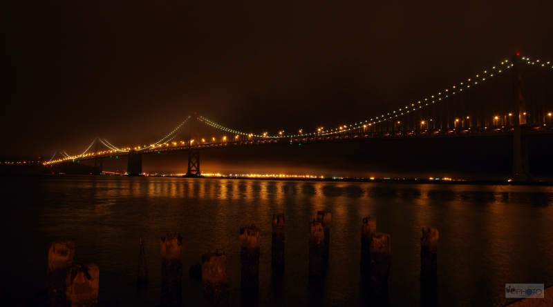 San Francisco Bay Bridge At Early Morning