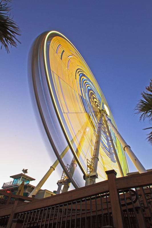 Skywheel Yellow Motion I