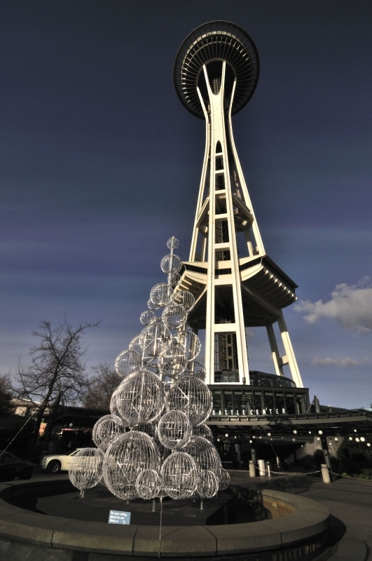 Space Needle New Year 2011