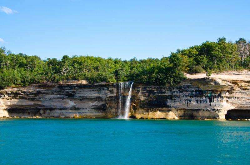 Spray Falls – Pictured Rocks National Lakeshore