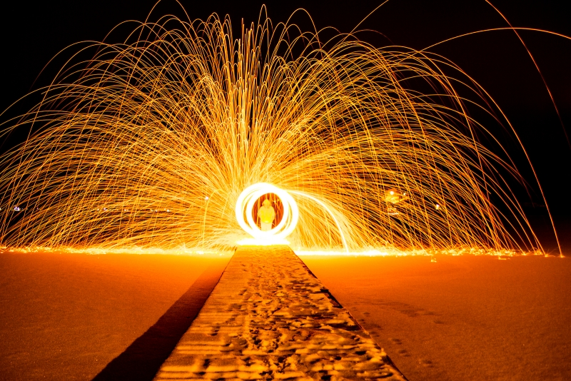 Steel Wool Photography – Winter Edition