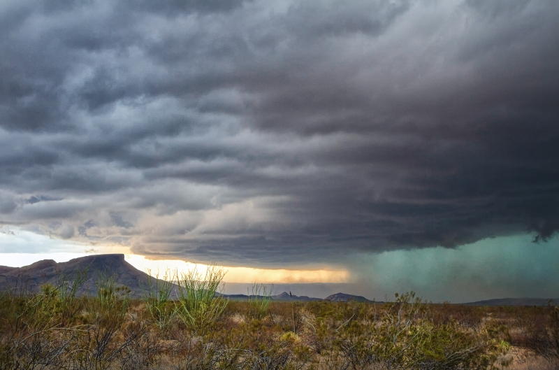 Storm In The Big Bend