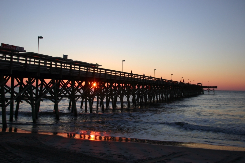 Sunrise At The Pier…