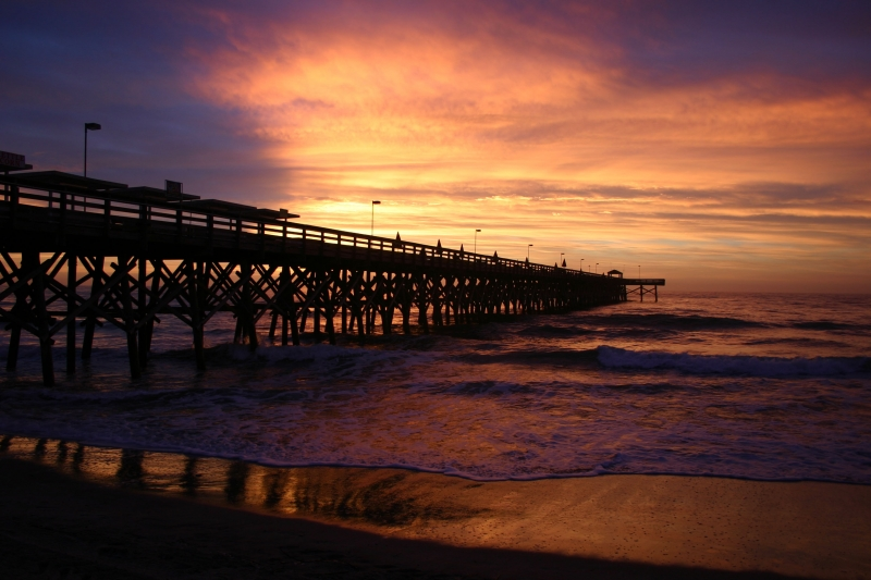 Sunrise Near The Pier…