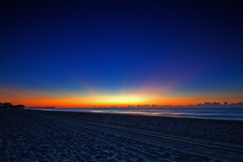 Sunrise On The Beach I