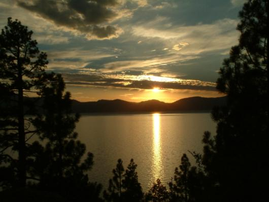 Sunset @ Lake Tahoe