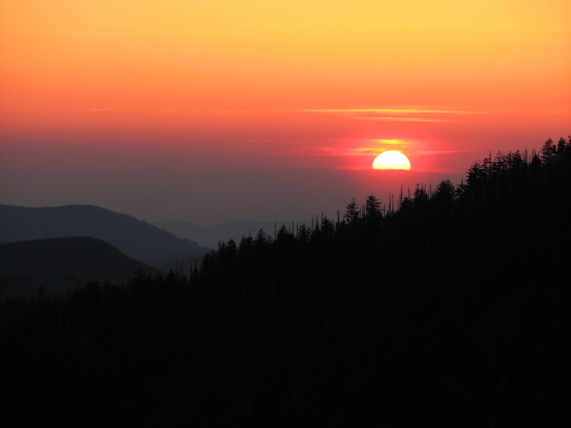 Sunset At Clingman's Dome