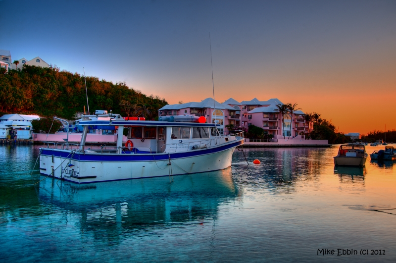 Sunset At Flatt'S Inlet – Bermuda 1