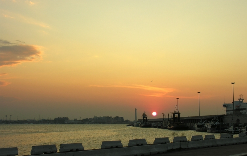 Sunset In Bari_01