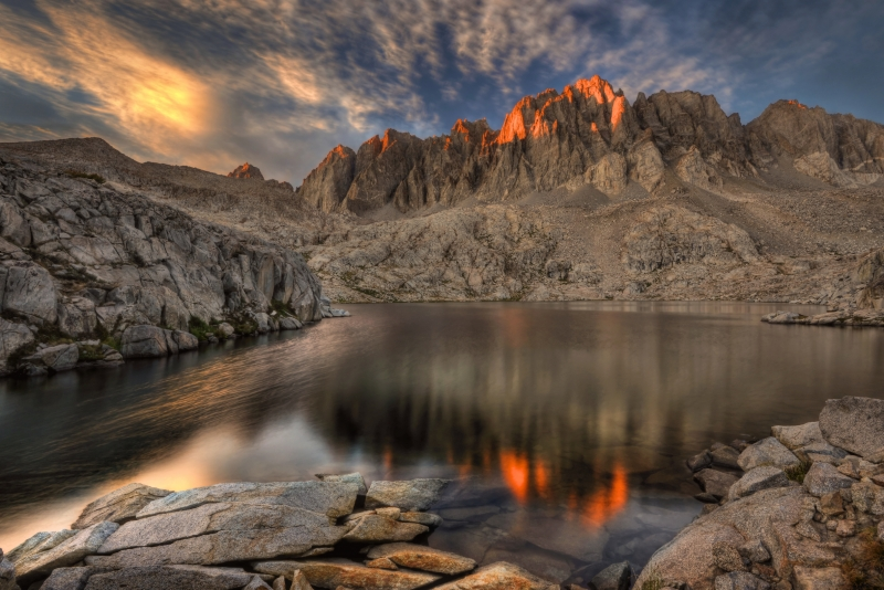 Sunset In The Palisade Basin